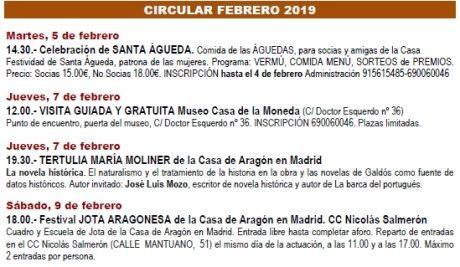 Circular febrero 2019