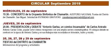Circular septiembre 2019