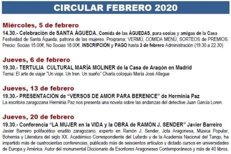 Circular febrero 2020