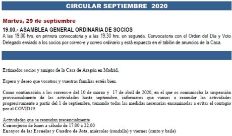 Circular Septiembre 2020