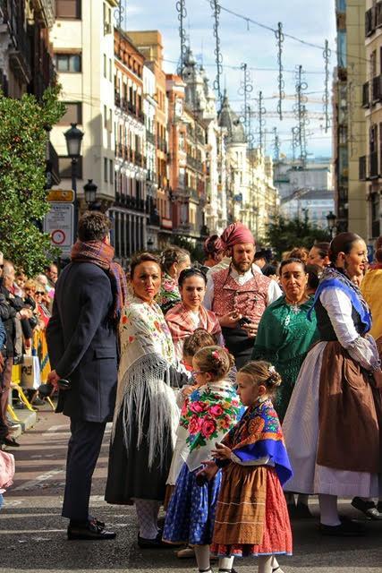 Cuadro de Jota Casa de Aragón en Madrid
