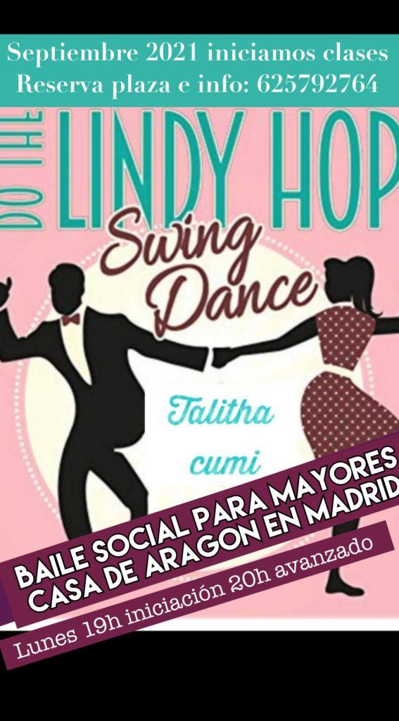 SWING LINDY HOP (BAILE SOCIAL PARA MAYORES)