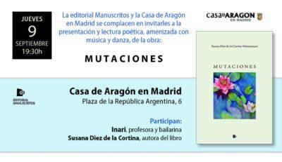 Presentación libro MUTACIONES