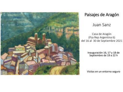 Exposición pintura PAISAJES DE ARAGÓN