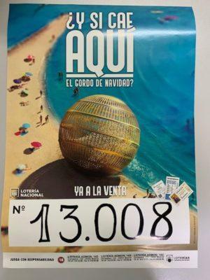 Lotería de la Casa de Aragón en Madrid